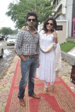 Richa Chadda, Nikhil Dwivedi at Tamanchey film promotions in Malad, Mumbai on 15th Aug 2014 (1)_53ef524690208.JPG