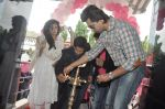 Richa Chadda, Nikhil Dwivedi at Tamanchey film promotions in Malad, Mumbai on 15th Aug 2014 (107)_53ef52774fc06.JPG