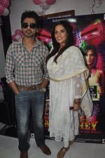 Richa Chadda, Nikhil Dwivedi at Tamanchey film promotions in Malad, Mumbai on 15th Aug 2014 (184)_53ef52a5d8a95.JPG