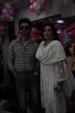 Richa Chadda, Nikhil Dwivedi at Tamanchey film promotions in Malad, Mumbai on 15th Aug 2014 (193)_53ef52ab8cb90.JPG