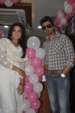 Richa Chadda, Nikhil Dwivedi at Tamanchey film promotions in Malad, Mumbai on 15th Aug 2014 (255)_53ef546804520.JPG
