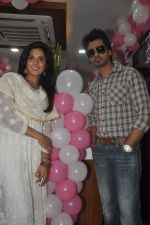 Richa Chadda, Nikhil Dwivedi at Tamanchey film promotions in Malad, Mumbai on 15th Aug 2014 (256)_53ef546952294.JPG