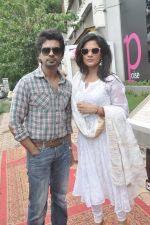 Richa Chadda, Nikhil Dwivedi at Tamanchey film promotions in Malad, Mumbai on 15th Aug 2014 (321)_53ef549d2b7e5.JPG