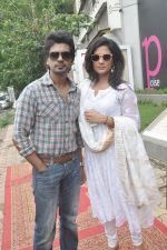 Richa Chadda, Nikhil Dwivedi at Tamanchey film promotions in Malad, Mumbai on 15th Aug 2014 (322)_53ef52e4acb63.JPG