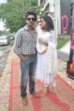 Richa Chadda, Nikhil Dwivedi at Tamanchey film promotions in Malad, Mumbai on 15th Aug 2014 (323)_53ef549e94183.JPG