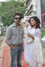 Richa Chadda, Nikhil Dwivedi at Tamanchey film promotions in Malad, Mumbai on 15th Aug 2014 (325)_53ef54a007df1.JPG