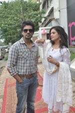 Richa Chadda, Nikhil Dwivedi at Tamanchey film promotions in Malad, Mumbai on 15th Aug 2014 (327)_53ef54a18ed88.JPG