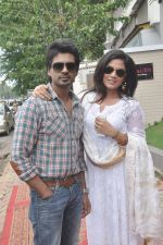 Richa Chadda, Nikhil Dwivedi at Tamanchey film promotions in Malad, Mumbai on 15th Aug 2014 (328)_53ef54a315c33.JPG