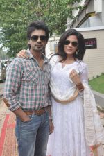 Richa Chadda, Nikhil Dwivedi at Tamanchey film promotions in Malad, Mumbai on 15th Aug 2014 (330)_53ef54a4b2649.JPG