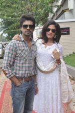 Richa Chadda, Nikhil Dwivedi at Tamanchey film promotions in Malad, Mumbai on 15th Aug 2014 (331)_53ef52ea85ecb.JPG