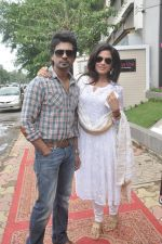 Richa Chadda, Nikhil Dwivedi at Tamanchey film promotions in Malad, Mumbai on 15th Aug 2014 (332)_53ef54a62cd82.JPG