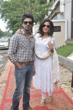 Richa Chadda, Nikhil Dwivedi at Tamanchey film promotions in Malad, Mumbai on 15th Aug 2014 (335)_53ef52eda75f9.JPG