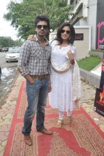 Richa Chadda, Nikhil Dwivedi at Tamanchey film promotions in Malad, Mumbai on 15th Aug 2014 (336)_53ef54a93a58e.JPG