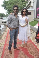 Richa Chadda, Nikhil Dwivedi at Tamanchey film promotions in Malad, Mumbai on 15th Aug 2014 (337)_53ef52ef42b41.JPG