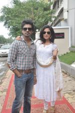 Richa Chadda, Nikhil Dwivedi at Tamanchey film promotions in Malad, Mumbai on 15th Aug 2014 (341)_53ef52f2557bc.JPG