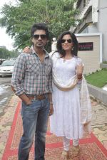 Richa Chadda, Nikhil Dwivedi at Tamanchey film promotions in Malad, Mumbai on 15th Aug 2014 (343)_53ef52f3c0fa8.JPG