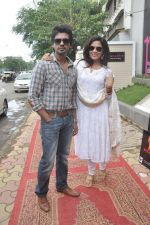 Richa Chadda, Nikhil Dwivedi at Tamanchey film promotions in Malad, Mumbai on 15th Aug 2014 (345)_53ef52f55fb69.JPG