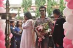 Richa Chadda, Nikhil Dwivedi at Tamanchey film promotions in Malad, Mumbai on 15th Aug 2014 (45)_53ef53ea66ec4.JPG