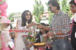 Richa Chadda, Nikhil Dwivedi at Tamanchey film promotions in Malad, Mumbai on 15th Aug 2014 (59)_53ef53f4b1154.JPG