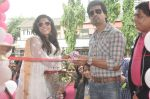 Richa Chadda, Nikhil Dwivedi at Tamanchey film promotions in Malad, Mumbai on 15th Aug 2014 (64)_53ef53f927c44.JPG