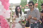 Richa Chadda, Nikhil Dwivedi at Tamanchey film promotions in Malad, Mumbai on 15th Aug 2014 (75)_53ef526068bde.JPG