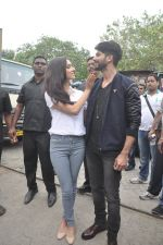 Shraddha Kapoor, Shahid Kapoor at Haider promotions at Umang College festival  in Parle, Mumbai on 15th Aug 2014 (108)_53ef4c5792ac5.JPG