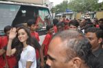 Shraddha Kapoor, Shahid Kapoor at Haider promotions at Umang College festival  in Parle, Mumbai on 15th Aug 2014 (132)_53ef4c68ee926.JPG
