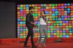 Shraddha Kapoor, Shahid Kapoor at Haider promotions at Umang College festival  in Parle, Mumbai on 15th Aug 2014 (235)_53ef4c7b36469.JPG
