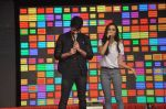 Shraddha Kapoor, Shahid Kapoor at Haider promotions at Umang College festival  in Parle, Mumbai on 15th Aug 2014 (243)_53ef4c8101409.JPG
