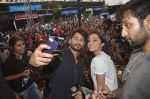 Shraddha Kapoor, Shahid Kapoor at Haider promotions at Umang College festival  in Parle, Mumbai on 15th Aug 2014 (323)_53ef4caf04192.JPG