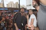 Shraddha Kapoor, Shahid Kapoor at Haider promotions at Umang College festival  in Parle, Mumbai on 15th Aug 2014 (327)_53ef4cb20c452.JPG