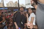 Shraddha Kapoor, Shahid Kapoor at Haider promotions at Umang College festival  in Parle, Mumbai on 15th Aug 2014 (328)_53ef4b524a95d.JPG