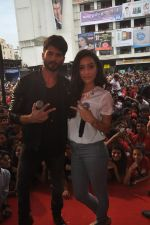 Shraddha Kapoor, Shahid Kapoor at Haider promotions at Umang College festival  in Parle, Mumbai on 15th Aug 2014 (335)_53ef4cb7c7c07.JPG