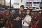 Shraddha Kapoor, Shahid Kapoor at Haider promotions at Umang College festival  in Parle, Mumbai on 15th Aug 2014 (341)_53ef4cbc0cdf5.JPG