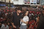Shraddha Kapoor, Shahid Kapoor at Haider promotions at Umang College festival  in Parle, Mumbai on 15th Aug 2014 (349)_53ef4cc1932e5.JPG
