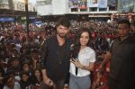 Shraddha Kapoor, Shahid Kapoor at Haider promotions at Umang College festival  in Parle, Mumbai on 15th Aug 2014 (351)_53ef4cc2f10e3.JPG