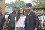 Shraddha Kapoor, Shahid Kapoor at Haider promotions at Umang College festival  in Parle, Mumbai on 15th Aug 2014 (88)_53ef4c4922fae.JPG
