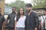Shraddha Kapoor, Shahid Kapoor at Haider promotions at Umang College festival  in Parle, Mumbai on 15th Aug 2014 (90)_53ef4c4a99cf0.JPG