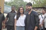 Shraddha Kapoor, Shahid Kapoor at Haider promotions at Umang College festival  in Parle, Mumbai on 15th Aug 2014 (94)_53ef4c4d6d565.JPG