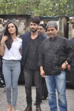 Shraddha Kapoor, Shahid Kapoor, Vishal Bharadwaj at Haider promotions at Umang College festival  in Parle, Mumbai on 15th Aug 2014 (26)_53ef4cc4645b6.JPG
