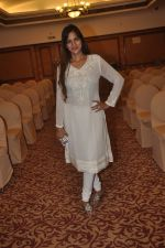 Tanisha Singh at special Indian national anthem launch in Palm Grove on 15th Aug 2014 (17)_53ef5178807f7.JPG
