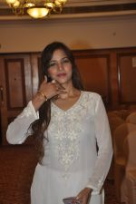 Tanisha Singh at special Indian national anthem launch in Palm Grove on 15th Aug 2014 (9)_53ef516e85613.JPG