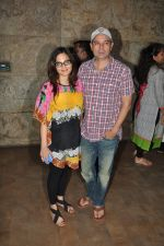 Alvira Khan, Atul Agnihotri at Singham Returns screening in Lightbox on 16th Aug 2014 (28)_53f09ba244661.JPG