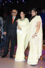 Boney Kapoor and Sridevi at Rajiv Reddy_s engagement in Hyderabad on 17th Aug 2014 (21)_53f1a27647e96.JPG