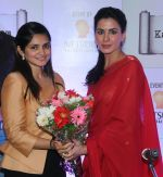 Sonia Gandhi (founder) with Actress Kirti Kulhari at the launch of kalamwali.com a world of words on 17th Aug 2014 (1)_53f2f618884d5.JPG