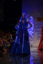 Model walk the ramp for Amit Aggarwal at Lakme Fashion Week Winter Festive 2014 Day 1 on 19th Aug 2014 (1186)_53f46420d5656.JPG