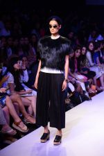Model walk the ramp for Gen Next Show at Lakme Fashion Week Winter Festive 2014 Day 2 on 20th Aug 2014 (46)_53f4678f68f57.JPG