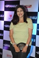 Kanchan Adhikari at Premiere of Expendables 3 in PVR, Mumbai on 21st Aug 2014 (1)_53f7223171b5a.JPG