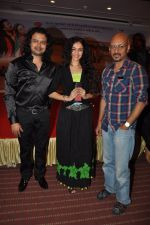 Raja Hasan, Neha Mehta, Shantanu Moitra at Marudhar Album Launch in Mumbai on 21st Aug 2014(289)_53f72e318516a.JPG