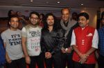 Shailesh Lodha, Surendra Pal, Raja Hasan, Kapil Sharma, Rajeev Thakur at Marudhar Album Launch in Mumbai on 21st Aug 2014(339)_53f72d0218477.JPG